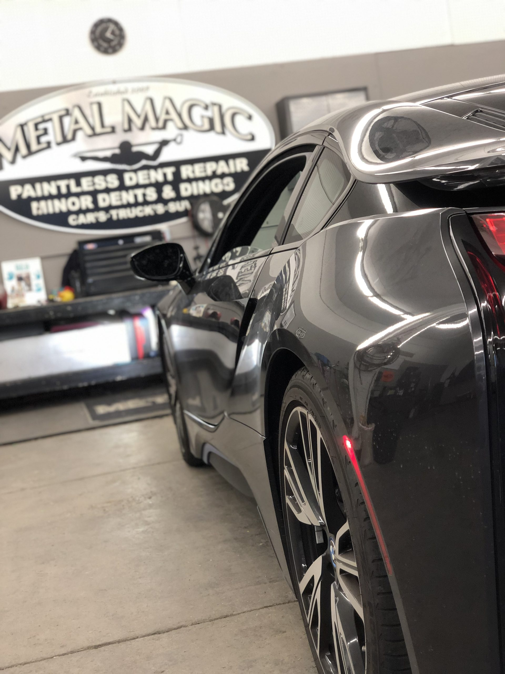 Metal Magic for high quality automotive service